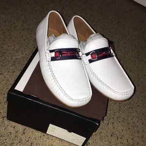 Gucci shoes Leather driver.